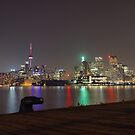 Toronto Skyline bei Nacht von thomasrichter