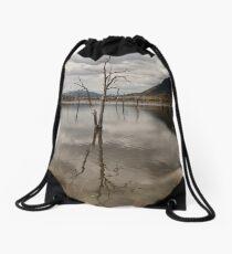 Lake Somerset. Drawstring Bag