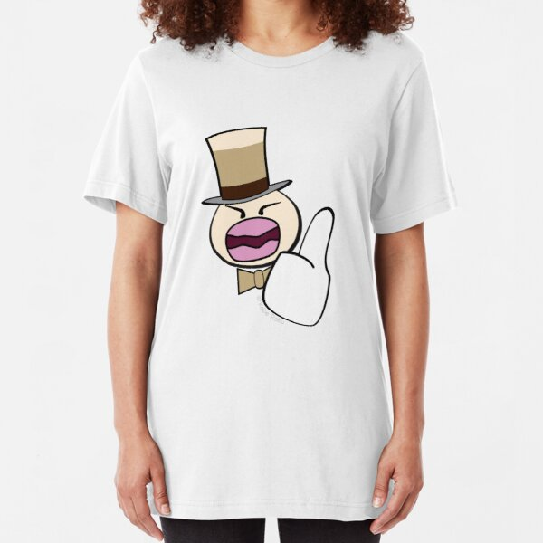 Coffee Duck Slim Fit T-Shirt