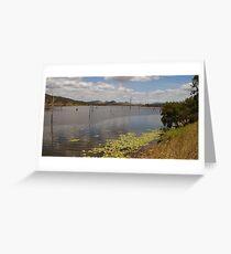 Lake Somerset. Greeting Card