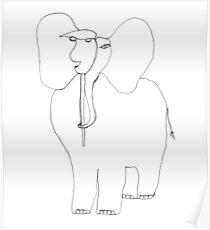 danimal's bestiary: elephant Poster