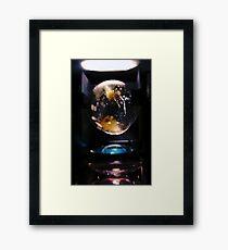Time Machine. Framed Print