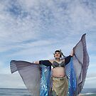Fifi Noir Double Isis Wings at the Beach by tidalcreations