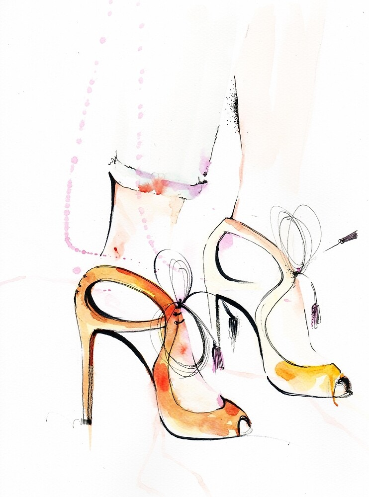 Summer shoes by Mariuca Calin