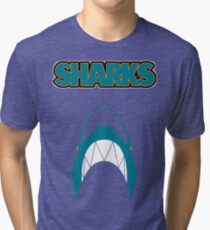 In the Jaws of the Sharks Tri-blend T-Shirt
