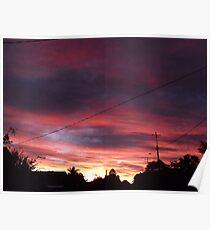 A Winter Sky Poster
