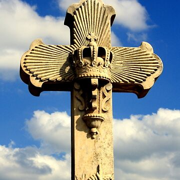 The Cross of Passing - Headstone in St.Kilda Cemetery  by pepstwolf