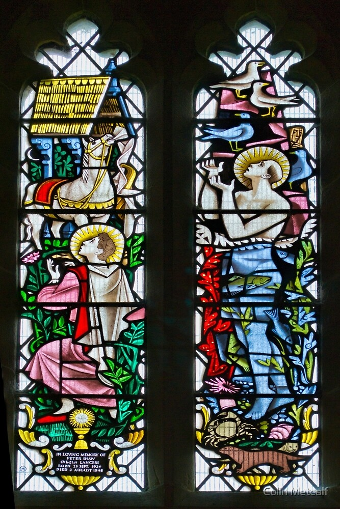 Stained Glass by Colin Metcalf