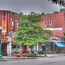 The Brix on Main Street - Cortland, NY by Edith Reynolds