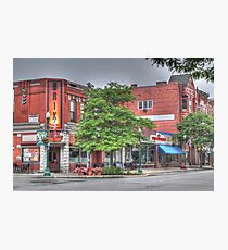 The Brix on Main Street - Cortland, NY Photographic Print
