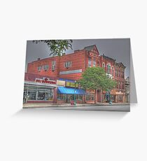 The Deli Downtown - Cortland, NY Greeting Card
