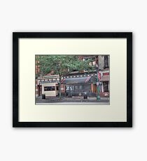 A Pizza & More - Cortland, NY Framed Print