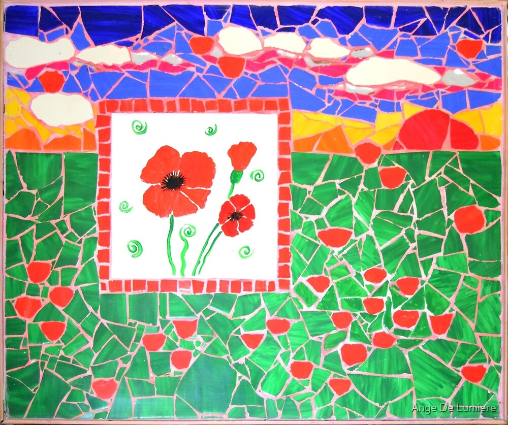 Poppies love by MosaicDreamer