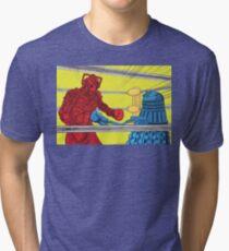 Rockem Sockem WhoBots Tri-blend T-Shirt