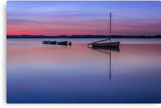 Calm waters by Paul Madden