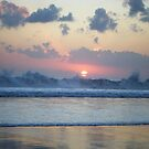 Days end - contrasts in Bali by Robyn Bradshaw