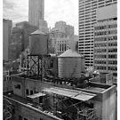 Manhattan Roof by Jeremy Watson