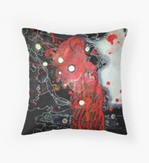 """Corporeal Ghast"" Throw Pillow"
