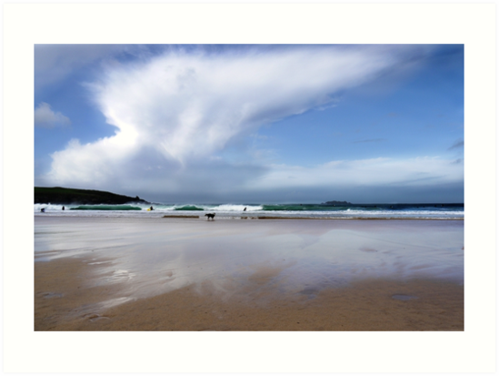 Harlyn Bay, Cornwall by Andrew Hocking
