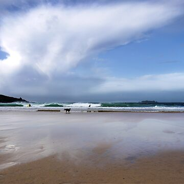 Harlyn Bay, Cornwall von Andrew-Hocking