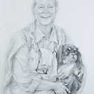 A Lady and Her Dog by Anthropolog
