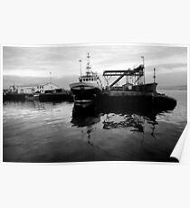 Greencastle Harbour Poster