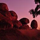 Devils Marbles Sunrise by Karina  Cooper