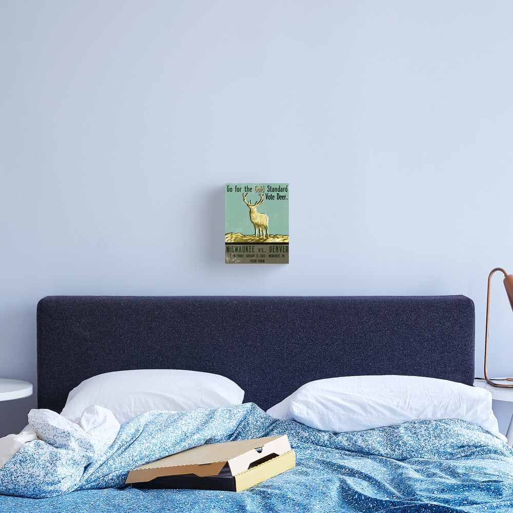 Go for the Gold Standard Canvas Print