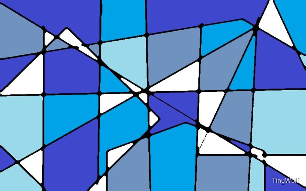 Blue geometric by TinyWolf