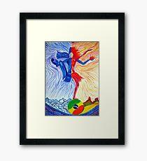 Samba-Shiva Framed Print