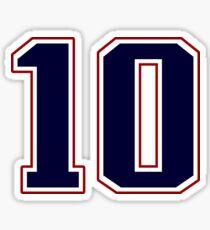 #10 Sticker