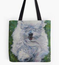 Coton De Tulear Fine Art Painting Tote Bag