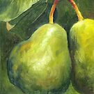 Go Green. Original Oil Painting by Cuban artist Magaly by Magaly Burton