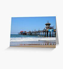Huntington Pier I Greeting Card