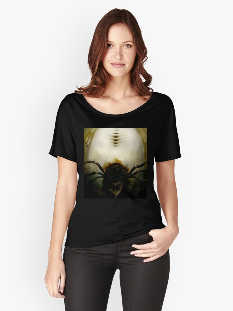 tditd007 Women's Relaxed Fit T-Shirt Front