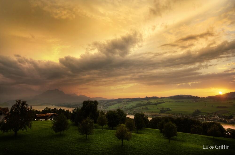 Swiss Storm Cell II by Luke Griffin