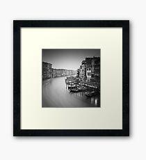 Venice: Canal Grande Study III Framed Print