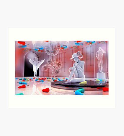 Dreaming Of Popsicles Art Print