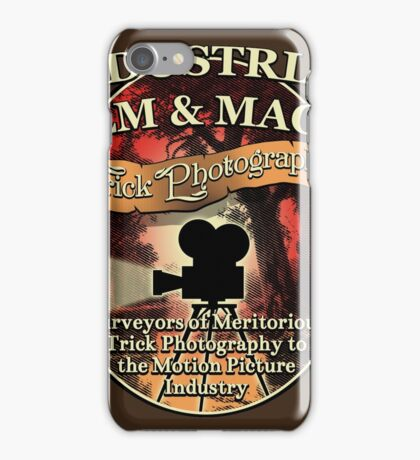 Industrial Film and Magic iPhone Case/Skin