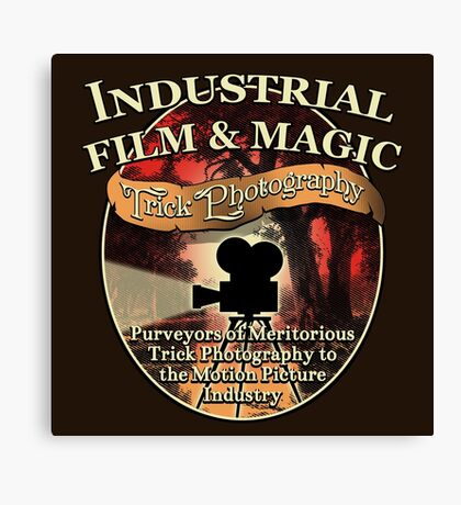 Industrial Film and Magic Canvas Print