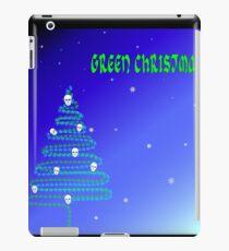 Grünes Weihnachten iPad-Hülle & Klebefolie