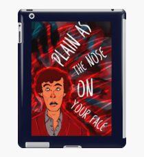 Mycroft's Nose iPad Case/Skin