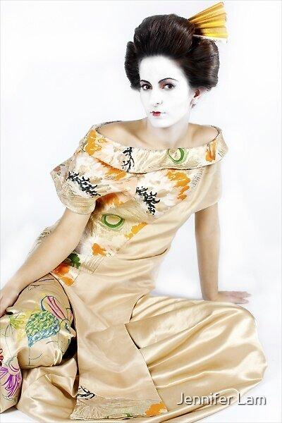 Geisha 8 by Jennifer Lam