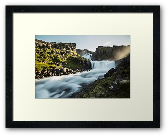 Icelandic Waterfall by madebyrina