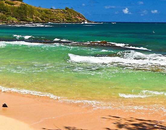 Kauai'i ribbons of color by Linda Sparks