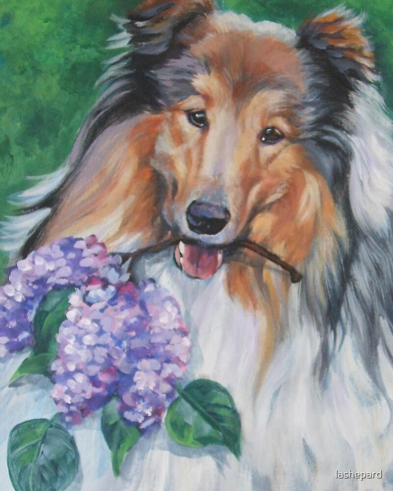 Collie Fine Art Painting by lashepard