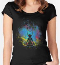 Kingdom Art Women's Fitted Scoop T-Shirt