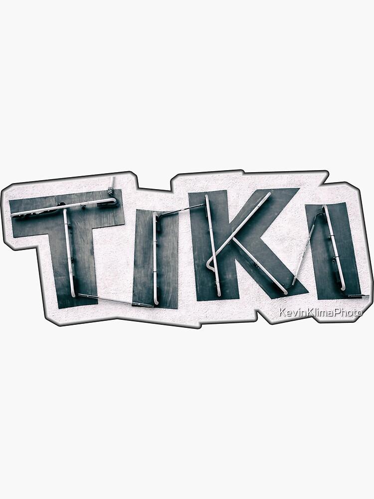 Tiki Bar Neon by KevinKlimaPhoto
