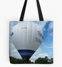 Strathaven Balloon Festival, Scotland Tote Bag