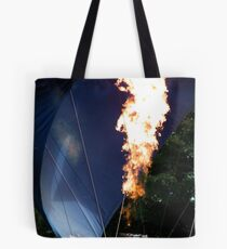 The Flame....Strathaven Balloon Festival, Scotland Tote Bag